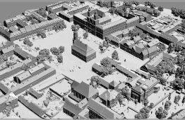 KTU CSCI: Kaunas Old town 3D